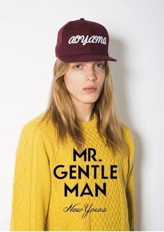 [No.6/48] MR.GENTLEMAN 2013 S/S collection | Fashionsnap.com