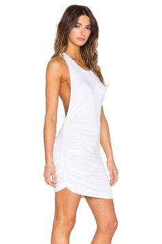Young, Fabulous & Broke Rocky Dress in White