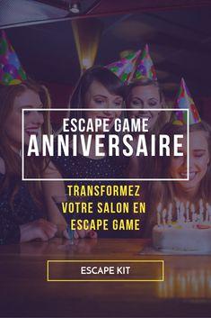 Organisez un Escape Game pour votre anniversaire  #anniversaire #famille #amis #amie #organisation #mariage #diy #idee #deco #rire #cadeau #orginal #escaperoom #escapegame #meuble #maison