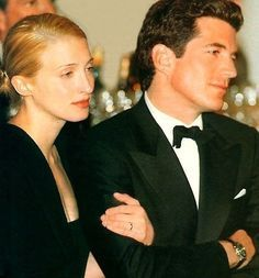 1998. Effortless glamour JFK Jr. + CBK...forever in our hearts.