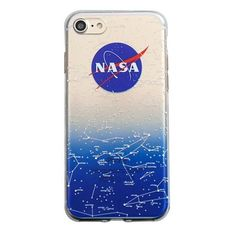 Space Fans NASA Printed Mobile Phone Case for iPhone ❤ liked on Polyvore featuring accessories and tech accessories
