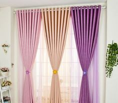 Gorgeous Trendy Design Curtains Can Change Your Residence Miraculously , crithom. Home Curtains, Modern Curtains, Colorful Curtains, Curtain Styles, Curtain Designs, Curtains Childrens Room, Living Room Decor, Bedroom Decor, Design Bedroom