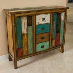 Christopher Knight Home 295685 Everest 4 Drawer 2 Door Cabinet Multicolor Furniture Makeover, Painted Furniture, Diy Furniture, Console Furniture, Affordable Furniture, Luxury Furniture, Modern Furniture, Furniture Design, Wood Storage Cabinets