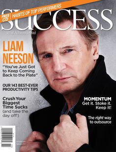 You can not find a better value in learning what the Super Achievers do than with Succcess Magazine Success Magazine, Magazine Articles, Liam Neeson, Cinema, Man Movies, Family Matters, Handsome Actors, King Of Kings, Irish Men