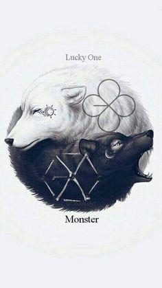 EXO - LUCKY ONE/MONSTER