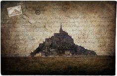 Mont Saint Michel, France - Forgotten Postcard ~ Alison Cornford-Matheson