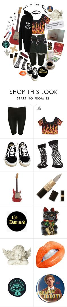 """""""i am a death house, haunted mirror, acerbic heart / there ain't nothing pure in here"""" by vengefulghost ❤ liked on Polyvore featuring Edition, Levi's, Vans, Skingraft, Pamela Mann, Relic, The Damned, Lab, Universal Lighting and Decor and Tokyo Rose"""
