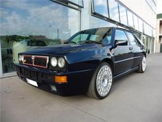 Lancia Delta Integrale Blue HF With Speedline 18""