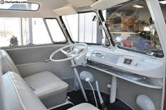 VW Bus Interior More
