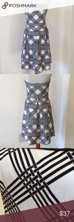 White House Black Market Dress Perfect condition. Perfect special occasion dress. Length 31' White House Black Market Dresses Strapless