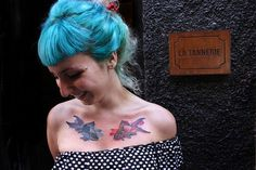photo and tattoo by Peter Aurisch by Soya le gato, via Flickr