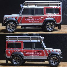 Just a tyre swap no disassembly required The stock tyres are way to low profile for off-roading. I found some higher profile tyres that in my opinion look more suited for the task and just look more better. The Hot Wheels Real Rider tyres are a loose fit but super glue could change all that...#matchbox #landroverdefender #diecast #liveandletdiecast by tippityplop Just a tyre swap no disassembly required The stock tyres are way to low profile for off-roading. I found some higher profile tyres…