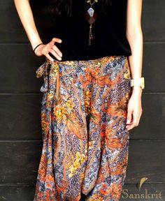 Hindu pants boho hippie gypsy style