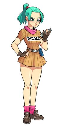 "teutron: "" Bulma Dulma Rulma Swulma Pretty girls in boring poses is my comfort zone. Dbz, Vegeta And Bulma, Bulma Cosplay, Goku Wallpaper, Character Design References, Dragon Ball Z, Pin Up, Poses, Anime Characters"