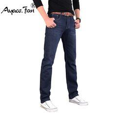 Men/'s Eagle blue jeans Classic Colored denim jeans Straight leg Khaki Size 28-42