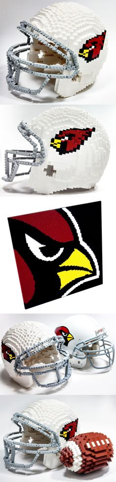 Goooooo Cardinals !  Love legos, except when I step on one....yes ouch!