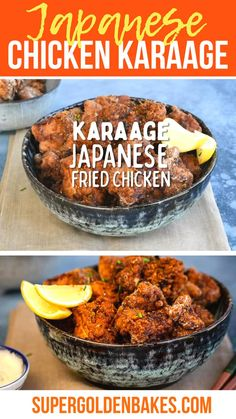 Chicken Karaage, a.k.a Japanese Fried Chicken, is crispy on the outside and super moist within. Delicious as an appetizer or serve with rice to turn it into meal. I have taken a deep dive into how to prepare the perfect Karaage including an air-fried version!