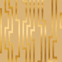 Velocity Wallpaper in Beige and Gold design by Candice Olson