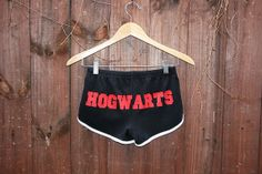HOGWARTS Shorts - 70s Style American Apparel Shorts - Harry Potter Fans - Choose Size - Made to Order