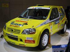 Suzuki Ignis S1600 Rally Car