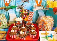Disney planes birthday party ideas | Photo: We are excited to offer Disney Planes party supplies! Shop now ...
