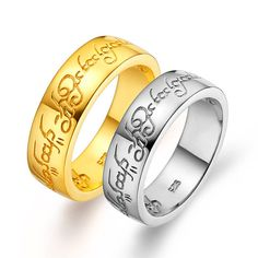 Anniversary Rings Couple Rings His and Her by UloveFashionJewelry, $11.07