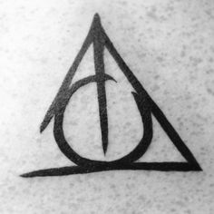 This tattoo is very special to me. I got it to honor my dad.When i was young my dad used to read me the harry potter books every night before I went to bed. The lines are not connected because it is not a memory tattoo, our story isn't finished therefore the lines have not come to an end. My dad is my best friend and I wanted to get it to show him how much i cherish him. hipstersanthem.tumblr.com