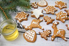 Mézeskalács Christmas Treats, Christmas Holidays, Xmas, Baby Food Recipes, Sweet Recipes, Holiday Recipes, Christmas Recipes, Gingerbread Cookies, Paleo