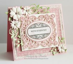 Designs by Marisa: JustRite Papercraft - With Sympathy Card