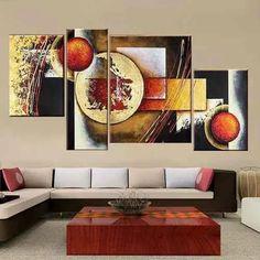 cuadros modernos oleo decoracion casa pinturas sala Abstract Drawings, Abstract Art, Drip Art, Indian Art Paintings, Painting Of Girl, Diy Canvas Art, Panel Art, Modern Wall Art, Geometric Art