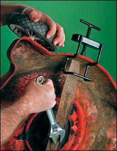 Mower Blade Clamp - Gardening