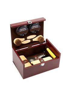 Shoe Care Kit Box Set  by TARRAGO at Gilt