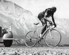 Tour de France 1949. 11^Tappa, 12 luglio. Pau > Luchon. Col du Tourmalet. Fausto Coppi (1919-1960)