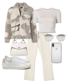 """""""Untitled #22810"""" by florencia95 ❤ liked on Polyvore featuring rag & bone/JEAN, Speck, Cushnie Et Ochs, Handle, Veja and Linda Farrow"""