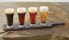 Amazon.com: Libbey Craft Brews Beer Flight 6-Ounce Clear Pilsner Glass Set, 5-Piece Set