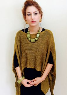 Timeless Wrap by Terrie Fadem, $5.99 USD, but so easy to knit with no pattern!