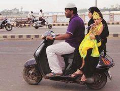 Incredible India - Muslim couple with Lord Krishna