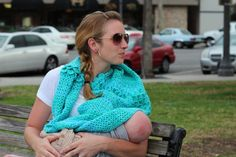 Nursing Cover Infinity Scarf Crochet by MaryElizabethDesigns, $30.00