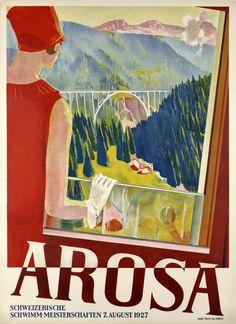 Arosa, Switzerland - Home of the Tschuggen Grand Hotel and Sporthotel Valsana @Tschuggen Hotel Group @Sporthotel Ellmau Valsana