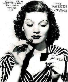Lucille Ball, Max Factor Ad