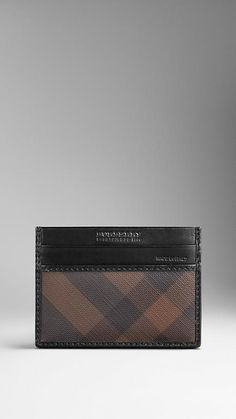 Burberry - Ausweisetui in Smoked Check - 140,00 €