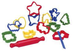 The clay cutters from Alex toys are used to cut out the clay shapes that your kid use to create masterpieces. The Alex Toys Clay Cutters allows your kid to experiment without any trouble. Your kid will have a lot more fun playing with Clay Cutters Alex Toys than any other sets. Your child will have a fabulous time spending hours cutting figures from clay. They promote the creativity of the kids as they try to cut various shapes.