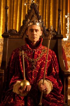 Tom Hiddleston as Prince Hal is at odds with his father, the increasingly frail Henry IV (Jeremy Irons). See them both on Great Performances: The Hollow Crown: Henry IV, Part 2, airing on PBS Hawaii on October 4.