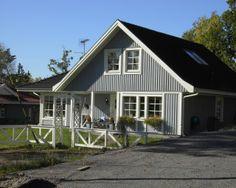 Schwedenhaus grau  Schwedenhaus Villa Forsvik | ALADOMO Schwedenhäuser | Pinterest ...