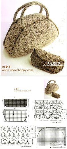 手工 钩针 钩花 生活 设计…_来自明媚xy2010的图片分享-堆糖网