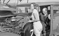 Gladys O'Donnel And Earl Cooper Promote Union 76 Gasoline @ http://theoldmotor.com/?p=160813
