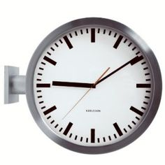 Double Sided Karlsson Station Wall Clock