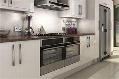 A Livorna White High Gloss Kitchen Design Idea http://www.diy-kitchens.com/kitchens/livorna-white/details/