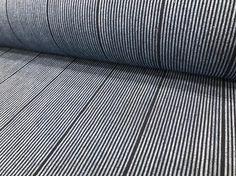 Shikiri-sendai  仕切仙台 #stripes #indigo #japanesefabric #シャトル織機 #備後絣 #備後節織