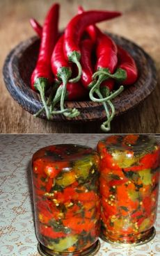 простые рецепты маринованных перцев